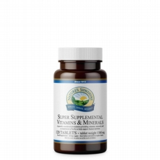 Super Supplemental Vitamins and Minerals